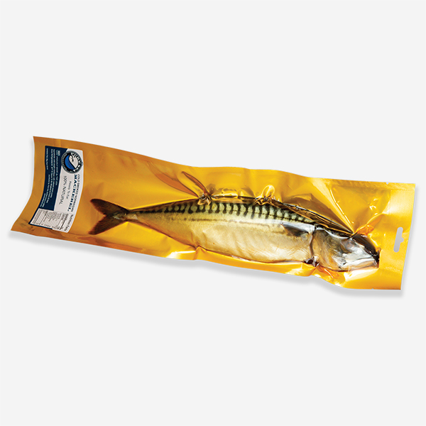 Cold Smoked Norwegian Mackerel,Kosher (Pure Sea), ~ 400gr (sell by weight)