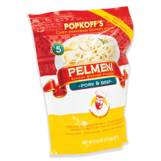Beef & Pork Pelmeni/Dumplings Bag