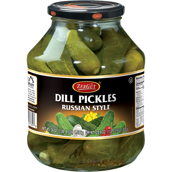 Russian Style Dill Pickles